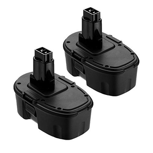 Replace for Dewalt 18V XRP Battery DC9096 DC9099 DC9098 DW9099 DW9098 Compatible Replacement Cordless Power Tools 3600mAh Batteries 2-Packs