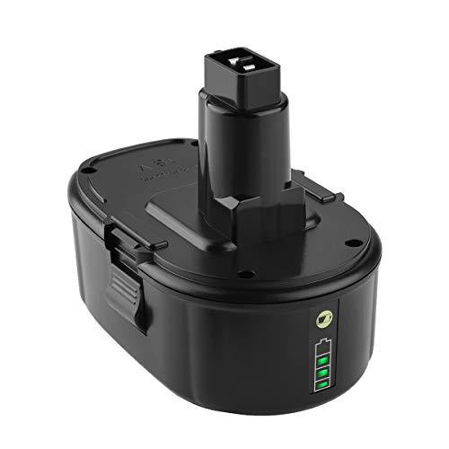 Yabelle Replacement 50Ah Lithium Dewalt 18V Battery for Dewalt Battery 18 Volt XRP Ni-Cad Battery DC9096 DC9098 DC9099 DE9039 DE9095 DE9096 DE9098 DW9095 DW9096 DW9098 DE9503 DC9182 Dewalt Batteries