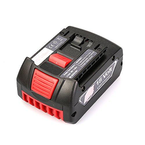 18v 40ah Lithium-ion Hc Fatpack Battery Replacement For Bosch 18 Volt Bat622 Bat620-2pk Skc181-202l Bat619g-2p
