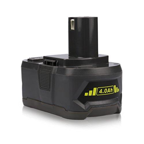 Energup 4000mah Ryobi 18v Lithium Battery Pack Replacement For Ryobi P104 P105 P102 P103 P107 P108