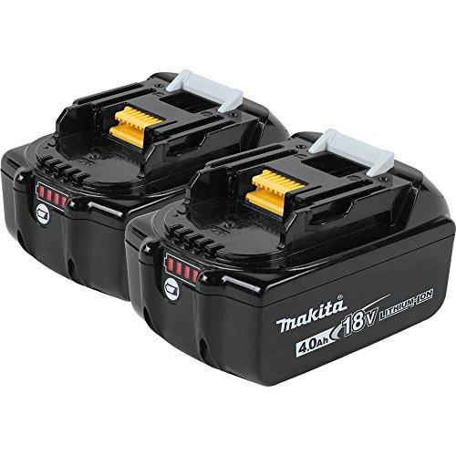 Makita Bl1840b-2 18v Lxt Lithium-ion 40ah Battery Twin Pack