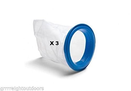 Blue Ring Debris Bags 3 New Intex 10788 Deluxe Pool Maintenance Kit Vacuum Part