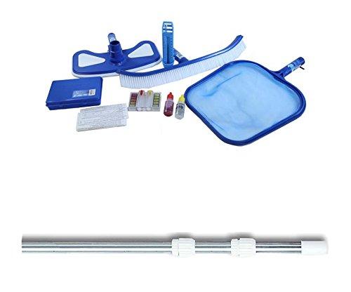 Hydrotools 8610 Premium Swimming Pool Maintenance Kit w 4-12 Telescopic Pole