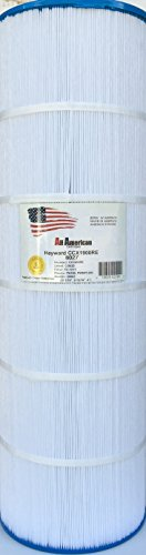 Hayward CX1900RE All American 8027 Replacement Cartridge Unicel C-8420 Pleatco PWWPC200 PAP190 Aladdin 28002 Filbur FC-1211 Waterway Pro Clean 200 817-0200P Swimming Pool Filter Cartridge