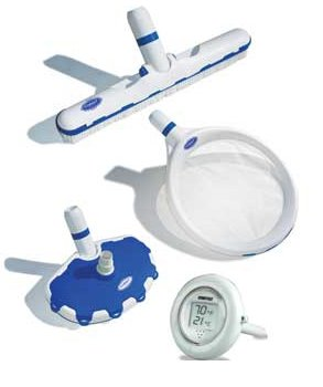 20 HydroTools Cobalt Series Premium Swimming Pool Cleaning Maintenance Kit