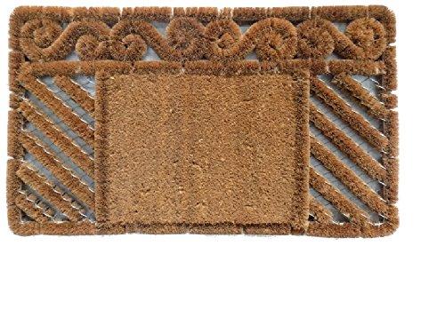 Imports Decor Boot Scraper Combination Door Mat 18 x 30