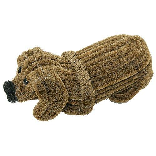 Rubber-Cal Doggie Coir Boot Scraper Doormat 5 by 9 by 18-Inch