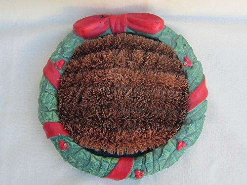 Wreath Boot Scraper Indoor Outdoor Magnesia Base NEW