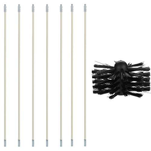 SuperUS Cleaning Brush Chimney Tube Inner Wall Cleaning Brush Dryer Tube Brush Can Bend New Products