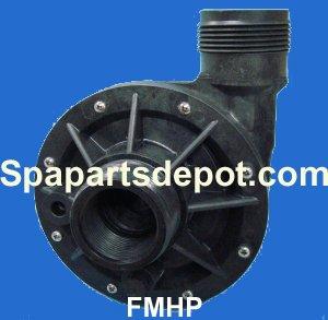 Gecko Aqua-flo 91040720 1-12&quot Wet End 15hp Flo-master Fmhp Spa Pump