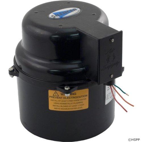 Silencer Portable Spa Blower 1 Horsepower - 240 Volt
