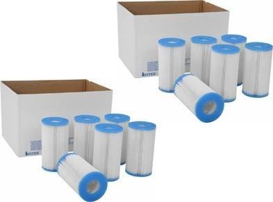 Intex Type A Easy Set Pool Filter Cartridge 12-pack  29000e 59900e