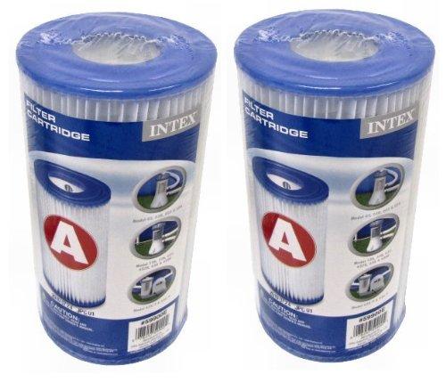 Intex Type A Easy Set Pool Filter Cartridge 4-pack  29000e 59900e