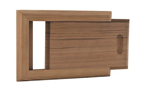 Cedar Sauna Air Ventilation Louver 4 x 10