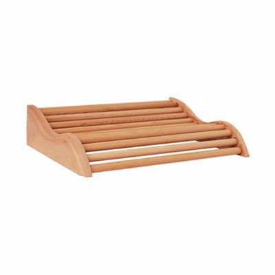 Curved Cedar Sauna Headrest 14 12&quot X 10 34&quot