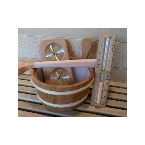 Deluxe Cedar Sauna Accessories Set