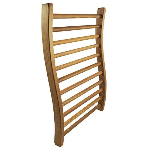 Hse Cedar S-shape Sauna Backrest 1 Red Cedar