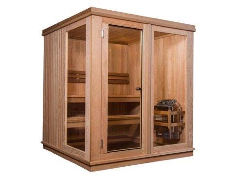 Almost Heaven Saunas 4-person Grayson Indoor Saunas