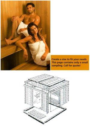 Thermasol TMS44BIC Modular - 45Kw Heater 4X4 Traditional Sauna Room