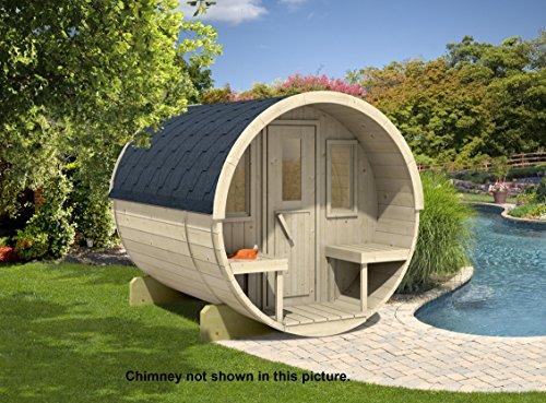 Allwood Barrel Sauna 250-whp  Wood Heater