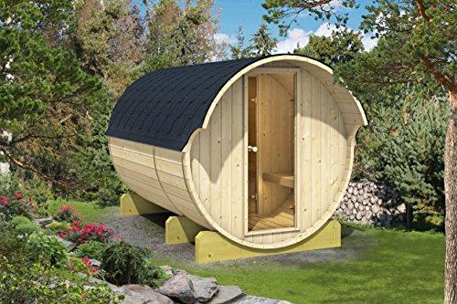 Allwood Barrel Sauna 330-ehc  Electric Heater