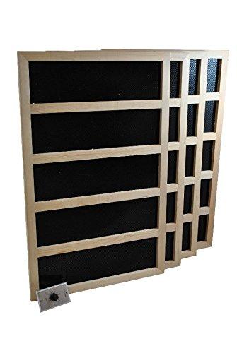 Infrared Sauna Heater Package With Mechanical Timer - 1200 WATT-120VAC
