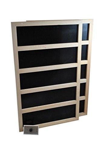 Infrared Sauna Heater Package with Mechanical Timer - 600 WATT-240VAC TM79F-32M UGBA472146