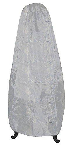 Deeco Cp Dm-rc-cj-w Chiminea Jr Rain Cover With New Waterproof Uv Protective Fabric White