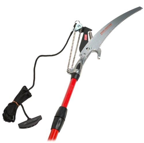 Corona Tp 6870 Dual Compound Action Tree Pruner 13&quot Razer Saw 7 To 14 Fiberglass Pole 1-14&quot Cut&quot