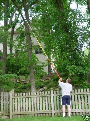 Kissemoji 19 FOOT POLE SAW Tree Pole Pruner Tree Saw
