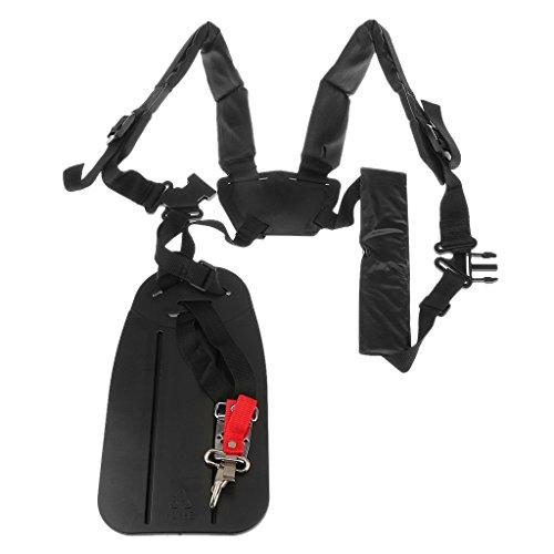 Adjustable Strimmer Double Shoulder Harness Strap For Brush Cutter Grass Trimmer Power Pruner