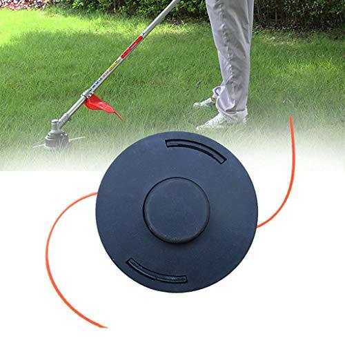 vmree Universal Plastic Grass Trimmer Garden Strimmer Lawn Mower Fitting Garden 12x12cm Black