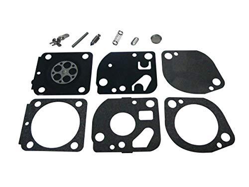 Carburetor RepairRebuild Kit Replaces ZAMA RB-114 for Stihl 4180 4 Cycle Trimmer ZAMA C1Q-S72B C1Q-S81 C1Q-S88
