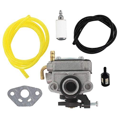 USPEEDA Carburetor Kit for Craftsman 30CC 4-Cycle Gas Trimmer Weedwacker 73197 Fuel Line