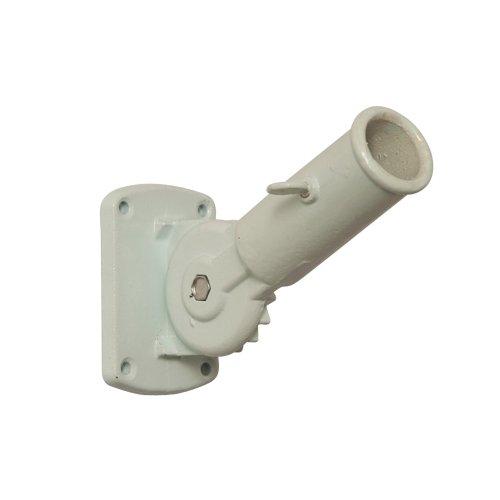 Evergreen Adjustable Pole Bracket White - Aluminum