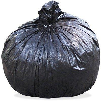 100 Recycled Plastic Garbage Bags 33gal 13mil 33 x 40 BrownBlack 100CT