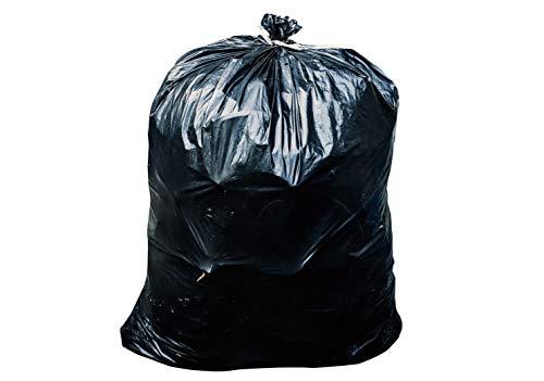 Toughbag 55-60 Gallon Contractor Trash Bags 38W x 58H 30 Mil 50 Black