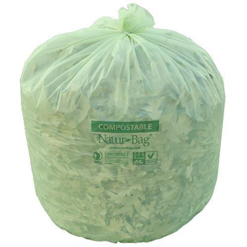 Natur Bag - Nt1025-x-00013 - 39 Gallon Compostable Liners