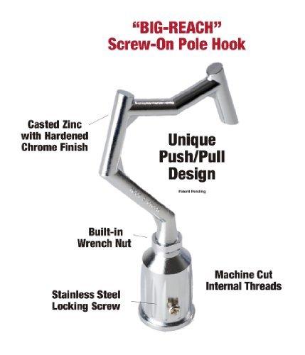 BIG-REACH Pole Hook NEW Model SCR-HK-CD Outdoor Hardware Store