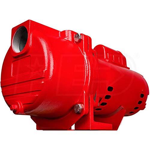 MRT SUPPLY 15 Horsepower 71 GPM 115V Cast Iron Irrigation Sprinkler Pump with Ebook