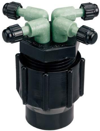 Orbit Drip Irrigation System 4-Port Watering Manifold 14 Dripper Tube 61004D 5-Pack