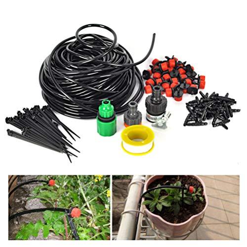 Cabilock 25M Garden Irrigation Drip System 30-Dripper Plant Watering System DIY for Garden Landscape Flower Bed Patio Plants