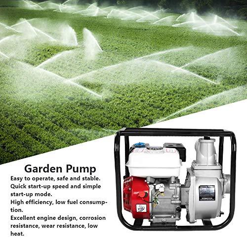Garden Irrigation Pump 3in Swimming Pool Cleaning Pump Electric Garden Pump 65HP 7m Petrol Gasoline Water Transfer Pump