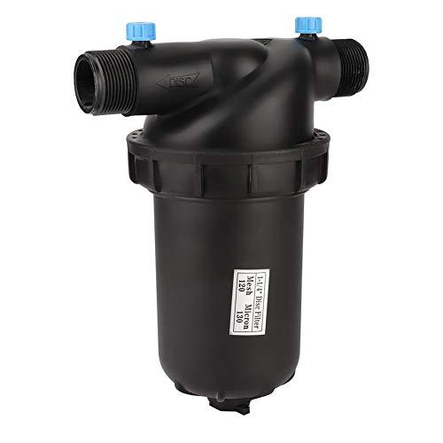 Mumusuki Irrigation Filter G1-14 Inch Male Thread Disc Filter 120 Mesh for Gardening Agriculture Filter Drip Irrigation Pump