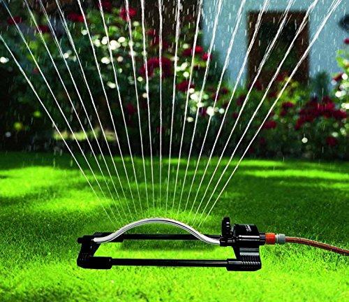 Oscillating Water Sprinkler Sprayer for Lawn Garden Yard Sprayer