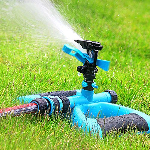 Water Sprinkler Macoku Sprinkler Irrigation Water System Design Impulse Long Range for Garden and Lawn