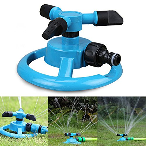 Lawn Sprinkler Dealpeak Lawn Garden Yard Sprinklers Watering Irrigation Nozzle 360 Degree RotationGreat for Lawn Garden Watering and Kids Playing in Summer