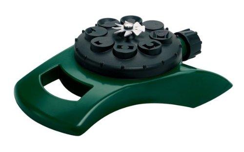 2 Pack - Orbit 8 Spray Pattern Turret lawn Watering Sprinkler