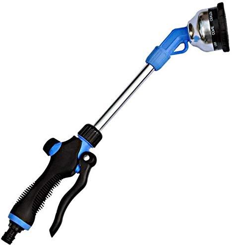 Xiachongshan Multifunction Pole sprinklers Garden Irrigation Spray Nozzle car Washing Gun Garden Lawn Watering Gun Color  Blue