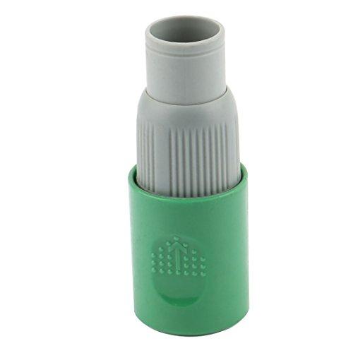 uxcell Plastic Farm Garden Adjustable Water Irrigation Connector Spray Nozzle Gray Green